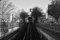 Berlin Nollendorfplatz (deta k) Tags: berlin nollendorfplatz ubahn ubahnhof sw bw nikond7100 sigma18125mmf3856