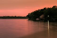 Sunset (Pranjal Mittal) Tags: nagpur ambazari lake sunset evening longexposure pink