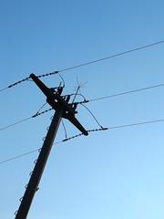 Strommast (gittermasttyp2008) Tags: strommast strommasten germany powertower power pylon powerpole powerpylon powerline pole strom