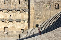 Aspendos_15 (Romeodesign) Tags: turkey trkei aspendos ruin theater antalya 550d mediterranean coast turkish riviera trkiye peninsula pamphylian ruins historic ancient roman amphitheatre theatre antique culture cultural monument romans architecture holiday urlaub
