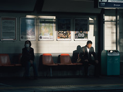 Serious face (slipper55) Tags:     japan kansai kyoto fushimi streetphotgraphy japanese