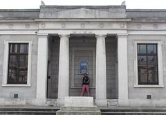 Trinity College (K. Sakulku) Tags: ireland ire trinitycollege pink symmetrical funny dublin architecture outdoor
