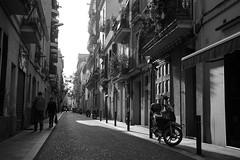 Barcelona Backstreets (rob.sidlow) Tags: photo photography streetphotography street photooftheday space light shadow moped backstreets barca barcelona spain summer canon 700d sigma