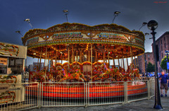 The Carousel (Billy McDonald) Tags: hdr thecarousel liverpool albertdock