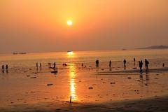 Rock Beach,Versova Andheri (justinvthomas) Tags: mumbai andheri versova rock beach rockbeach sunset canon 55250 700d