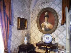 Amlia, Queen of Portugal (Paula Luckhurst) Tags: penapalace palciodapena palaces heritage sintra portugal interiors history queens queensofportugal historyofportugal europe