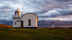 Crowdy Head Lighthouse (melissaclarke1) Tags: crowdy head sunset dramatic lighthouse