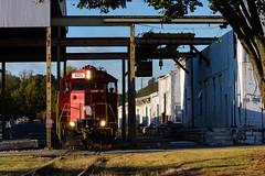 Nelson,GA (Kyle Yunker) Tags: gnrr georgia northeastern railroad emd gp20 train
