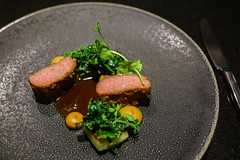 Rack of Lamb, Doenjang, Celeriac, Zucchini (Premshree Pillai) Tags: singapore singaporeaug16 summer summer2016 meta restaurant dinnerorone dinner food dinnerforone