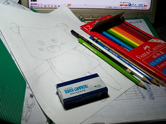 /Sketch in Progress (KAMEERU) Tags: pencil sketch