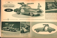 1962 Ford Cougar Concept Hot Rod July 1962