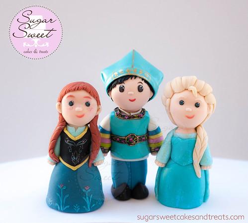 Gumpaste Figurine Cake Toppers