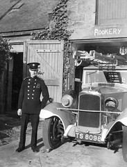 National & Auxiliary Fire Service (Dundee City Archives) Tags: world old two fire war uniform photos dundee angus engine national ii area ww2 second service firemen firefighters tender appliance afs brigade auxiliary ts8098