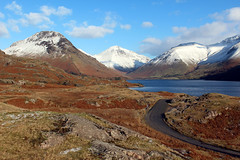 Wastwater (Cumberland Patriot) Tags: park england mountain lake snow snowy district peak national cumbria fells range ling fell wastwater wasdale cumbrian mell greenhow yewbarrow