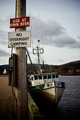 Wharf Studies (Grant is a Grant) Tags: canada nova 35mm harbor boat fishing dock nikon harbour ns vessel atlantic wharf scotia nikkor 35 annapolisvalley maritimes annapolisroyal d90 18g