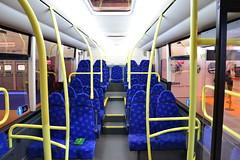 Interior of the Optare Solo (desmond.buses) Tags: solo nec optare newbuses optaresolo eurobusexpo metrodecker eurobusexpo2014 ebe14