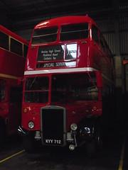 RTL1014 (KYY712) 10-12-2014 GRG.1 (routemaster2217) Tags: parkroyal londontransport vintagevehicle unitrans halfcab openplatform ensignbus classicbus rtl1014 heritagevehicle leyland7rt stepentrancebus rtltype kyy712