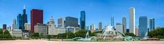 Chicago (Jiri Sigmund) Tags: park city panorama chicago tower fountain illinois loop grant buckingham willis marriedwithchildren cityinagarden jisigmund jirisigmund