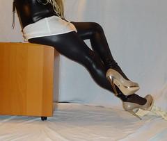 11 (read my Profile before anything!!!!!) Tags: nude high buffalo highheels plateau heels heel leggings stilettos