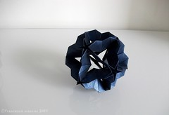Lovejoy (mancinerie) Tags: origami paperfolding modularorigami francescomancini mancinerie
