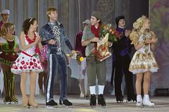 Johnny Weir,Irina Slutskaya,Evgeni Plushenko,Katarina Gerdoldt (Elena Vasileva /  ) Tags: figureskating iceshow johnnyweir thesnowking