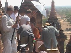 Das Traumschiff Filming in Bagan