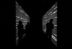 (cherco) Tags: city light shadow blackandwhite blancoynegro lines silhouette matrix composition canon contraluz dark luces expo perspective ciudad sombra direction imagination perspectiva silueta depth backlighting lineas oscuridad composicion direccion profundidad imaginacion ryojiikeda 60d canon60d