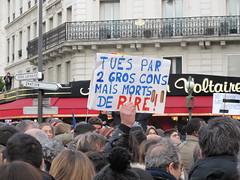 MARCHE REPUBLICAINE - PARIS - 11 JANVIER 2015 (Brin d'Amour) Tags: journal libert janvier marche presse 2015 charliehebdo attentat cabu charb wolinski brindamour rpublicaine tignous
