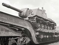 Soviet SU152 captured by Finnish Troops.