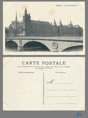 PARIS - La Conciergerie (bDom) Tags: paris 1900 oldpostcard cartepostale bdom