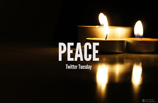 #TwitterTuesday: Peace | What is #Peace to you? How would you express this symbol of harmony, love and friendship through a picture?