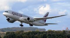 Qatar Airways Boeing 787-8 Dreamliner A7-BCM Climb (Mark 1991) Tags: edinburgh boeing edi qatar 787 qatarairways edinburghairport dreamliner 7878 a7bcm