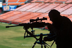 140828 Sniper9 name (Dustin Penman 2) Tags: silhouette training candle stadium sniper stick officer swat policesniper