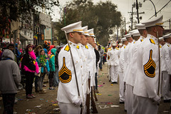Ross Volunteer Company at Mardi Gras (corpsofcadets) Tags: parade rv mardigras rex rossvolunteers