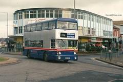 6965 WDA 965T PB (onthebeast) Tags: buses circle wm outer six perry ways barr fleetline erdington wda 6965 965t