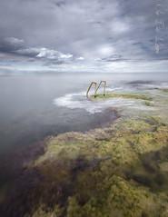 - thoughts in my mind - (Mar Diaz -korama-) Tags: españa seascape clouds marina spain rocks escalera nubes rocas torrevieja filtrosnd cabocervera d7000 mardíazkorama