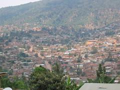 Sprawl of Kigali