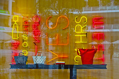 Neon lights decoration  (DigiPub) Tags: window ed decoration editorial onsale windowshopping kawasaki gettyimages neonlight       o20150321 m20150311 543685881