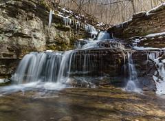 White Trail Falls (Karen&Guy) Tags: kentucky ky run falls waterfalls raven ravenrun fayettecounty