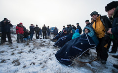 Expedition 42 Soyuz TMA-14M Landing (201503120121HQ) (NASA HQ PHOTO) Tags: nasa kazakhstan parachute soyuzcapsule zhezkazgan billingalls barrywilmore alexandersamokutyaev expedition42 elenaserova russianfederalspaceagencyroscosmos soyuztma14m expedition42landing