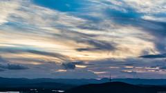 Mount Ainslie Lookout (thezaza42) Tags: city sunset sky mountain night clouds photography australia summit canberra australiancapitalterritory