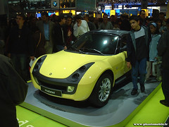 Mondial de l'Automobile 2002 - Smart Roadster (Deux-Chevrons.com) Tags: paris france smart car automobile automotive voiture coche motor roadster motorcar smartroadster mondialdelautomobile mondialdelauto smartroadstercoupé