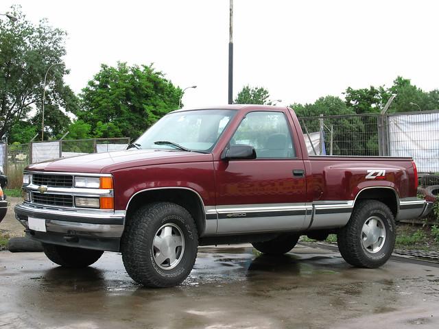 chevrolet gm 1996 pickup 1500 camionetas generalmotors sidestep z71 chevrolet1500 silveradosidestep