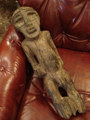 "ANTIQUE SONGYE (CONGO) FIGURE, ANTIQUE • <a style=""font-size:0.8em;"" href=""http://www.flickr.com/photos/51721355@N02/16665262272/"" target=""_blank"">View on Flickr</a>"