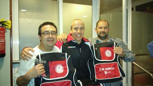 Junto a nuestros amigos del CN Sant Andreu