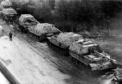 """Panzerjäger Tiger(P) """"Ferdinand"""" für 8,8 cm PaK 43/2 oder Stu.K. 43/1 (Sd.Kfz. 184)"""