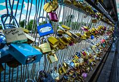 Pont de Arts (chriswalts) Tags: travel paris france football euros pontdesarts