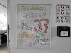 37 aniversario AQUARA