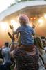 2016_CarolynWhite_sat19 (Larmer Tree) Tags: saturday 2016 child shoulders crowd clap handsintheair carolynwhite favourite