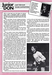 Aberdeen vs St Johnstone - 1983 - Page 22 (The Sky Strikers) Tags: road cup st magazine official scottish aberdeen don to hampden league johnstone the matchday pittodrie 40p